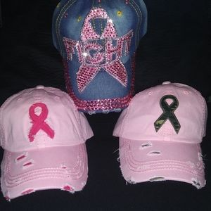 Breast Cancer Awareness Caps